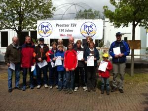 Alle Sieger der Landesmeisterschaft 2011 in Preetz